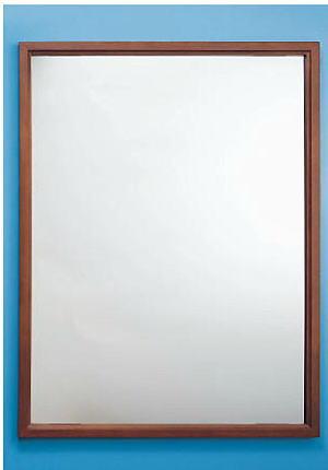シマブン KSW-4590 ステンレス製鏡 KAGAN 木枠タイプ