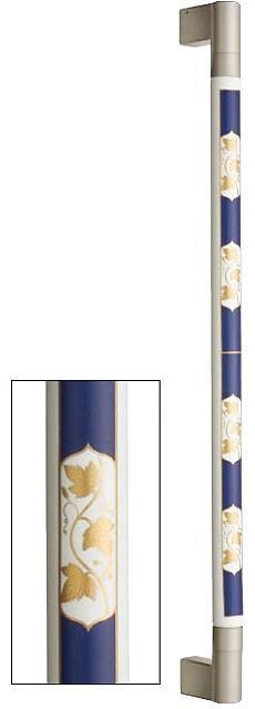 シマブン TIC-32S600-BB 陶磁器製手すり セラハンド コバルト葡萄