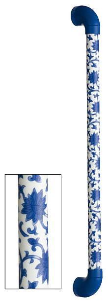 シマブン TIC-30S600-KKB 陶磁器製手すり セラハンド 唐草