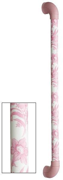シマブン TIC-30S300-YP 陶磁器製手すり セラハンド 癒草花