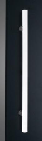 神栄ホームクリエイト GHB1218-25W-600 ドアハンドル カラー:ホワイト (新協和) 内/外1セット
