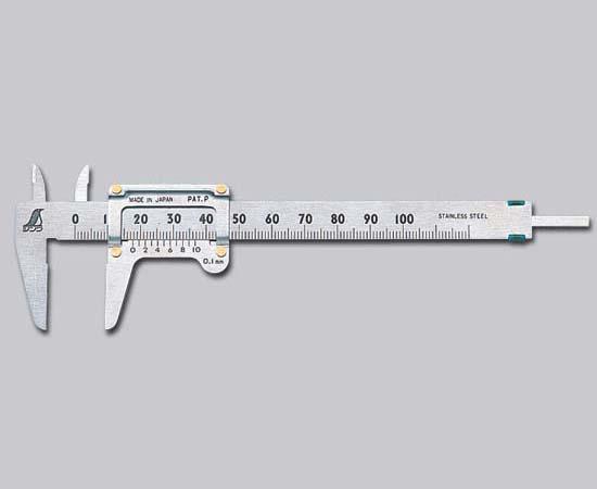 返品交換不可 送料無料 シンワ測定 19518 ポケットノギス 100mm 新色