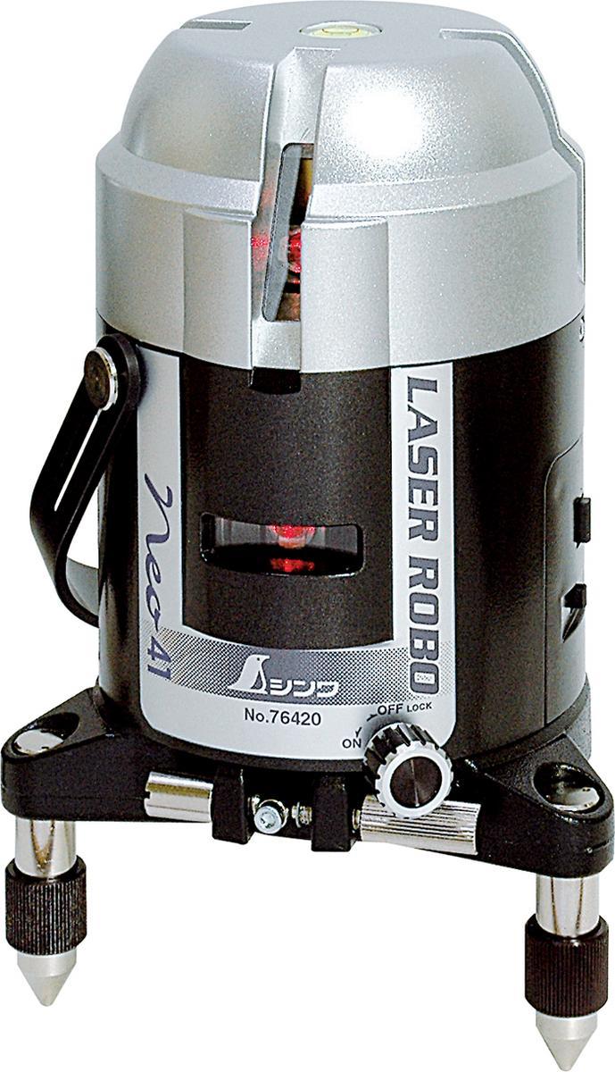 シンワ測定 76420 レーザーロボ NEO41 縦・横・通り芯・地墨