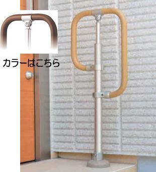 マツ六 BJ-131STWD ステンカラー+木目ダーク マツ六 BJ-131STWD フリーRレール ベースプレート式g型スタンド, 熊野市:ea262c85 --- diadrasis.net