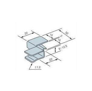 2×4用金物 シーリングクリップ SC-12 1200個入 Cマーク