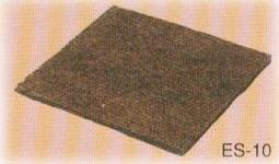 10本入 吸い出し防止マット ES-20 ヤシ繊維 t20mm×1m×10m 土木シートマット