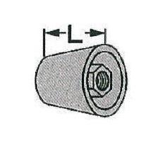 250個入 D型Pコン 1/2 L=40mm
