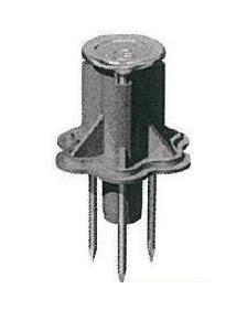 400個入 合板型枠用 MFD-3025 断熱用インサート 釘一体型タイプ W3/8 埋設40mm 軽天・軽設備用