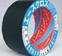 24巻入 光洋化学 エースクロス 011黒 75mm×20m 剥離紙なし 1c/s 気密防水テープ