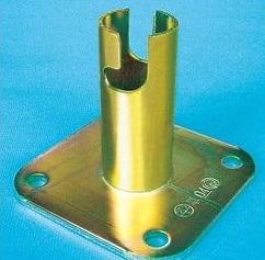 25個入 単管ベース 固定ベース SK-15 48.6φ 仮設工業会認定品