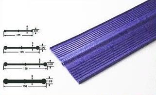 プラス・テク 塩化ビニール止水板 フラット FF-F 厚み6mm×幅200mm×20m グレー