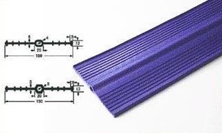 プラス・テク 塩化ビニール止水板 コルゲート・センターバルブ CC-CR 厚み7mm×幅300mm×20m グレー