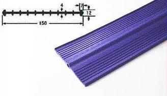プラス・テク 塩化ビニール止水板 コルゲート・フラット FC-CR 厚み4mm×幅150mm×20m グレー