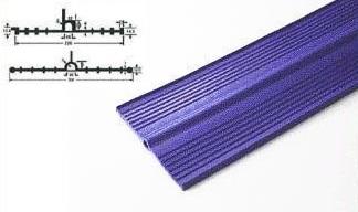 プラス・テク 塩化ビニール止水板 アンカット UC-U 厚み6mm×幅220mm×20m グレー