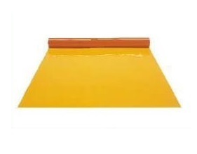 防虫フラーレフィルム オレンジ 1.0×1370×10m 塩化ビニールフィルムロール