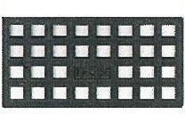 200個入 M15 レベルサポート調整板 M型 M15 不陸調整板 140×70×15mm M型 PP製 黒色 不陸調整板, 大門町:24175013 --- sunward.msk.ru