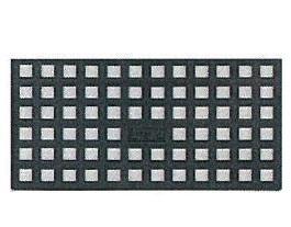 400個入 レベルサポート調整板 L型 L3 200×100×3mm PP製 黒色 不陸調整板