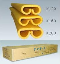 25本入 柱養生材 酒井化学 ミナキーパー K120 オレンジ 75~120mm用 長さ1.7m