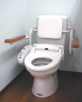 杉田エース ACE (455-596) トイレ用 背もたれ付手すり 壁付タイプ