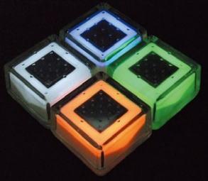 杉田エース ACE (433-809) ガラスソーラータイル クリペ TP100M 100角タイプ 各色 NITTO ニットー※