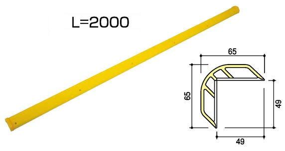 サンポール ネオコーナー NCL-65-20 L2000mm コーナーガード ※