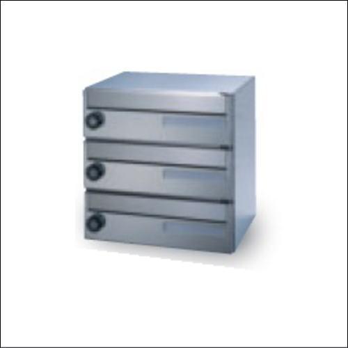 田島メタルワーク MX-8MI-3(受注生産) 3段 多段式省スペースタイプ myナンバー錠/シリンダー錠