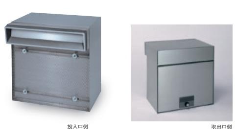 田島メタルワーク MX-303A(壁貫通) 単体タイプ ヘアライン 錠前:ラッチロック(南京錠別売)