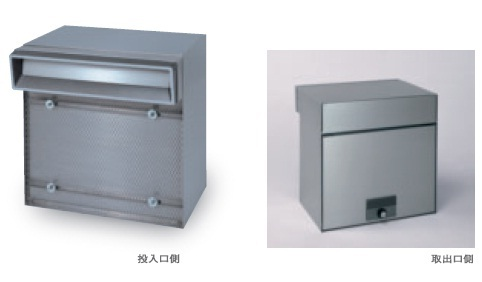田島メタルワーク MX-303A(壁貫通) 単体タイプ ヘアライン myナンバー錠/シリンダー