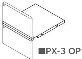 田島メタルワーク PX-3-OP(マグネットキャッチ) PX-3用オプション(施錠機能なしタイプ) 白色焼付塗装仕上げ