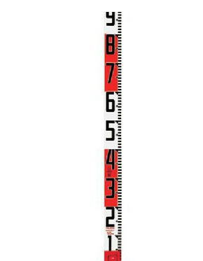 TAJIMA タジマ SYR-10P シムロンロッド(テープ幅60mm,長さ★10m,裏面仕様20cmアカシロ)