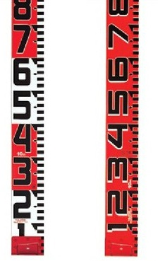 TAJIMA タジマ SYR-50TK シムロンロッド-150(テープ幅150mm,長さ★50m,裏面仕様1mアカシロ)