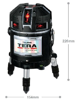 TAJIMA タジマ ML10-KJC TERAセンサー矩十字・横全周/10m/IP