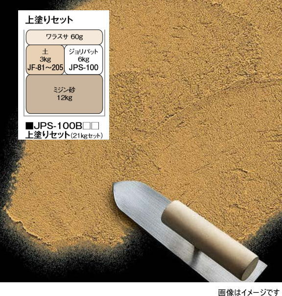 タカショー JPS-100B84 (41593900) ガーデンジョリパット 爽土エクステリア 上塗りセット 白土(直送品)