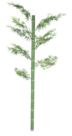 (直送品)タカショー GD-221S アル銘青竹 2.3m (人工観葉植物) アルミ製 33408700