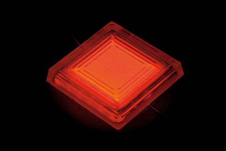 タカショー TLD-J05R タイルドライト (赤)