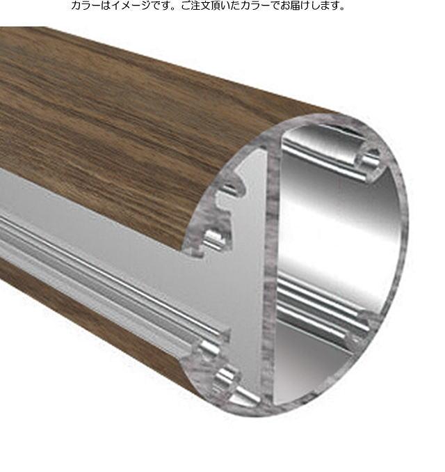 タカショー ビュースルーフェンス用 溝付エンド柱セット H1200タイプ ナチュラルパイン