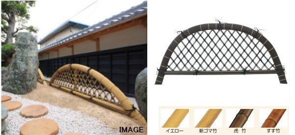 タカショー EM-116 合成虎竹九頭竜垣 6尺