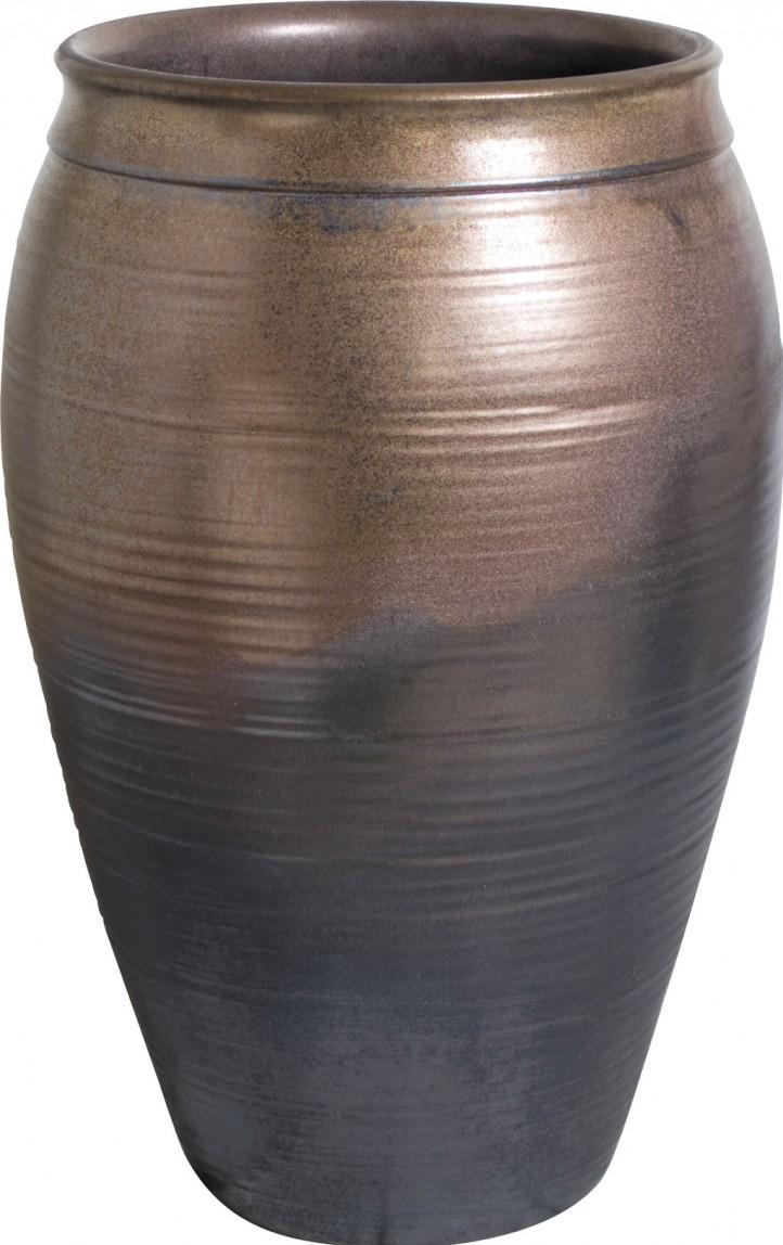 タカショー KTO-035 窯変金彩大壺水鉢