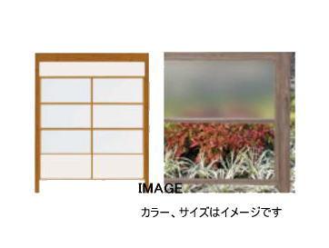 タカショー エバースクリーン ポリカBタイプ パネル枠2段セット(W1800) ポリカ4枚 京町家柿茶