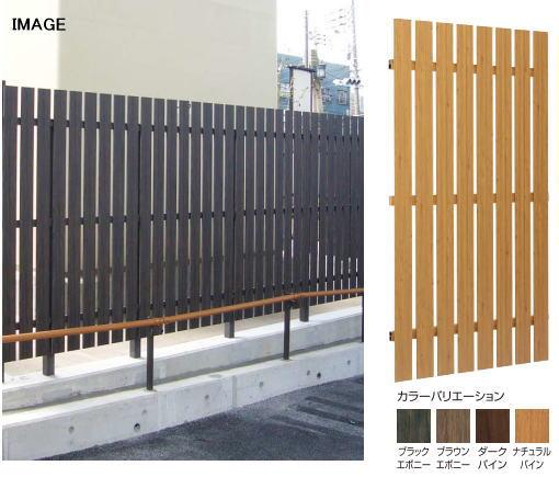 タカショー こだわり板縦貼ユニット W1000×H1800 ナチュラルパイン
