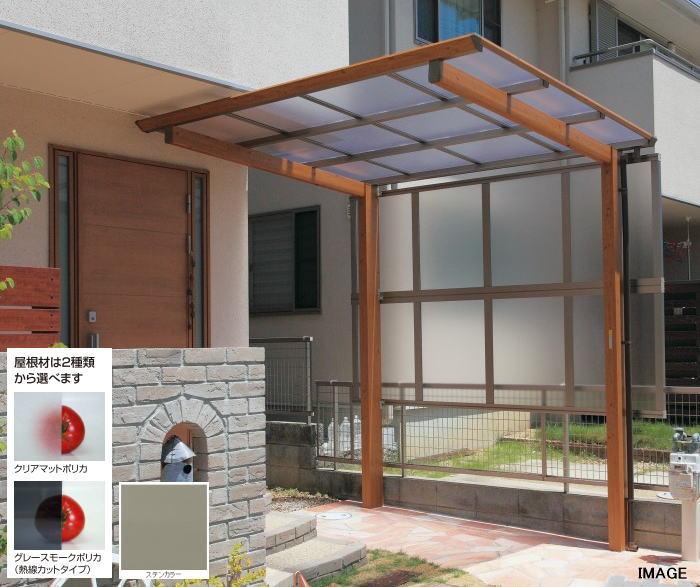 流行に  タカショー H900(1段) ポリカ:グレースモーク:家づくりと工具のお店 家ファン! アートポート側面パネル57 ATP-V0957G-エクステリア・ガーデンファニチャー