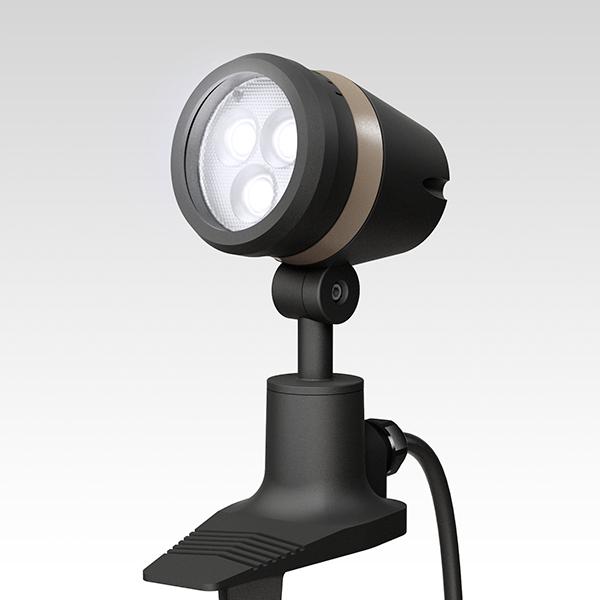 タカショー HFE-W17K De-SPOT 調光リング 100V ブラック 白 5mP付広角
