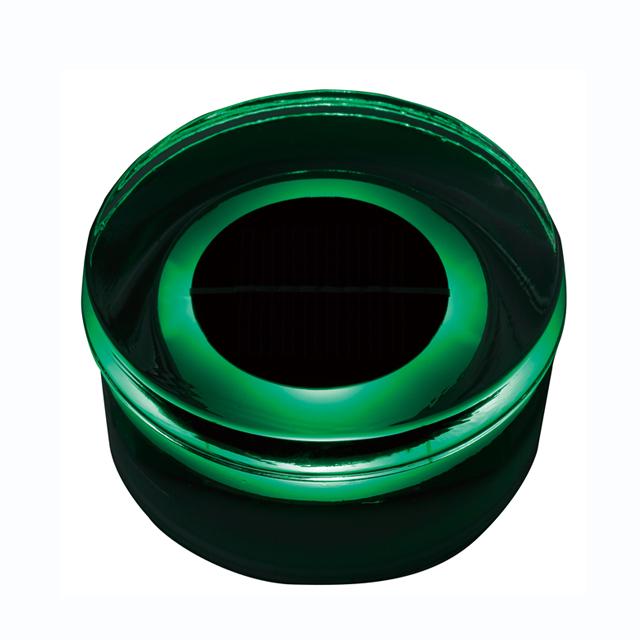 タカショー HCC-G01T タイルドライトソーラー ラウンド (緑)