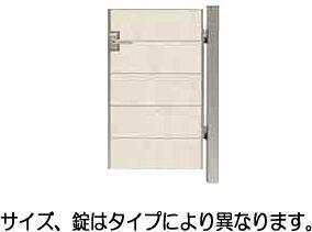 タカショー エバーアートウッド門扉 ナチュラルスタイル片開き ホワイトパイン W800 X H1400
