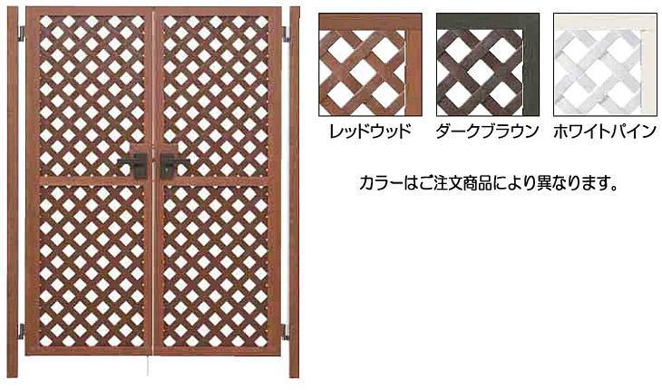 タカショー プロラフィード扉 両開き H1860 ホワイトパイン 扉本体:H1860×W650