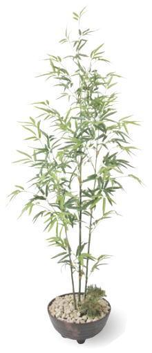 タカショー GD-10 黒竹寄せ植え1.4m 光触媒 1.4m