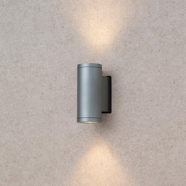 タカショー HBA-D11L HBA-D11L シリンダーウォールスレートシルバー(電球色)12-24V