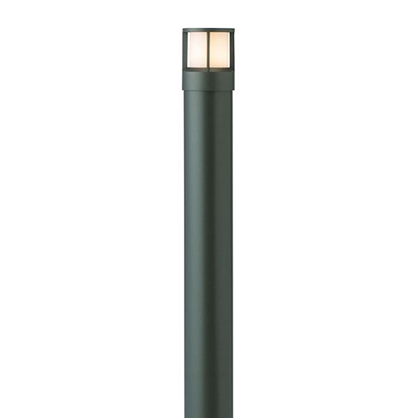 タカショー HFD-D45C スタイルポールライト 13型 ガード 100Vチャコールグリーン(電球色)