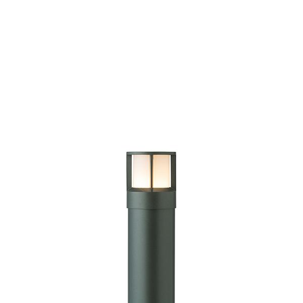 タカショー HFD-D48C スタイルポールライト 18型 ガード 100Vチャコールグリーン(電球色)
