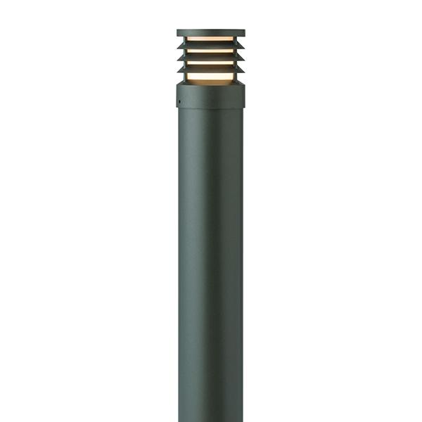 タカショー HFD-D51C スタイルポールライト 19型 ルーバー 100Vチャコールグリーン(電球色)